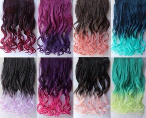 hair accessory hair dye hairstyles ombre hair
