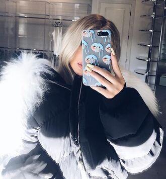 phone cover jacket kylie jenner instagram kardashians