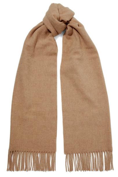 Acne Studios - Canada Fringed Wool Scarf - Beige