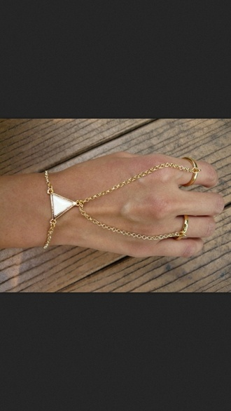 jewels hand jewelry chain gold