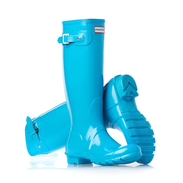 shoes hunter boots turquoise winter boots wellies