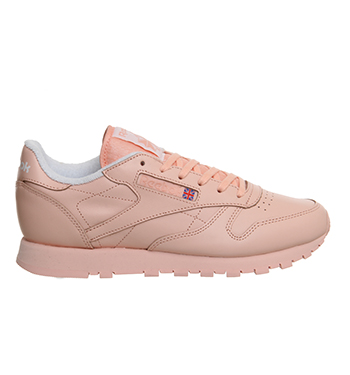 Blue – Reebok Classic Leather Pastel – Grade School Kids Lilac Glow White