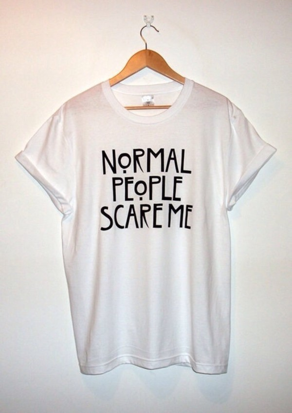american horror story www.ebonylace.net white t-shirt grunge wishlist white american horror story t-shirt oversized