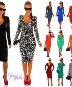 2014 New Fashion Women Sleeveless Summer Casual Dress Sexy Bodycon Bandage Dress Club Dress TB002 | Amazing Shoes UK