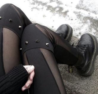 leggings grunge rock