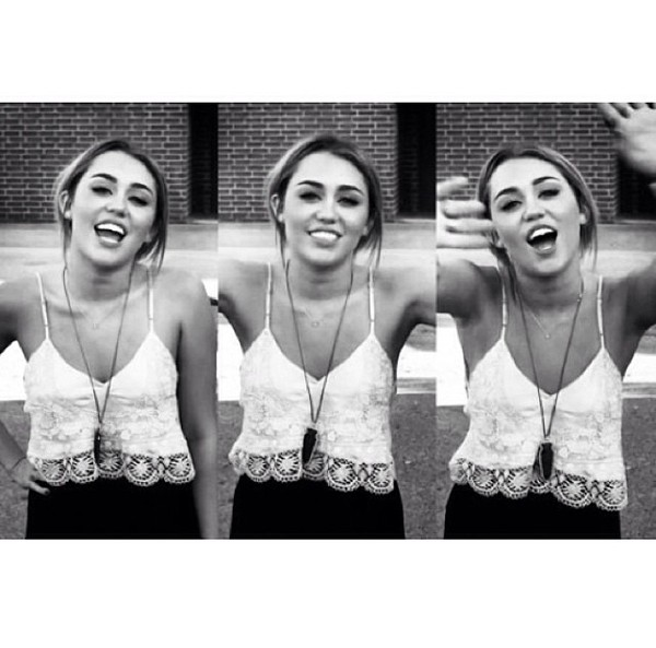 shirt white lace miley cyrus tumblr crop cropped tank top spaghetti strap