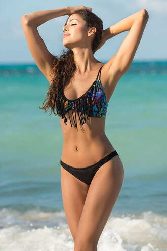 swimwear irgus bikini cheeky exclusive print adjustable straps bikiniluxe