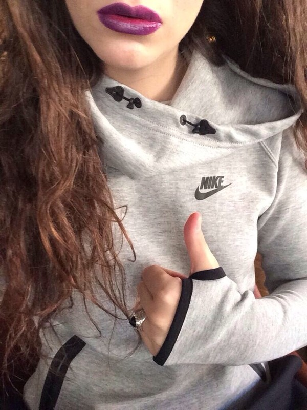 sweater gray hoodie nike nike sweater black heather grey cute swag swag