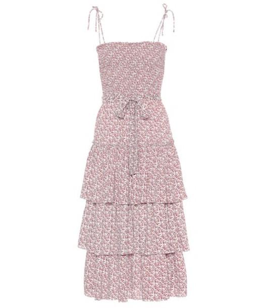 Tory Burch Floral-printed midi dress