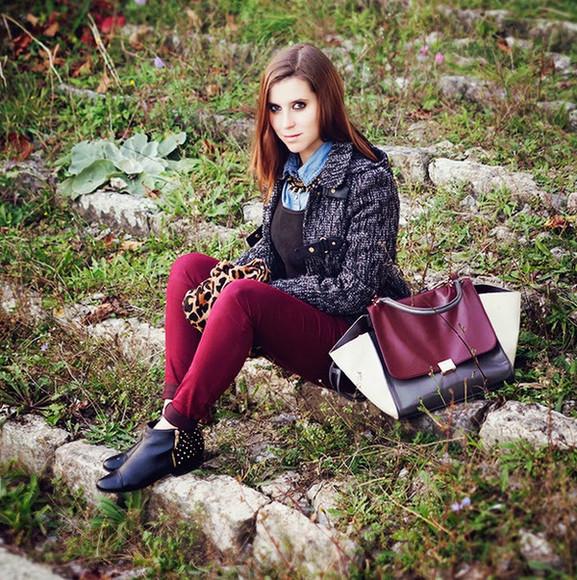 leather bag bag fashion bags