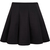Black High Waist Pleated Skirt - Sheinside.com