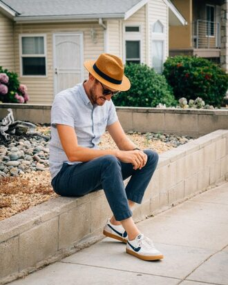 stay classic blogger shirt shorts pants hat shoes jewels sunglasses nike sneakers menswear mens shirt mens pants