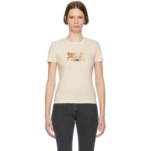 Nanushka Off-White Gellert Graphic T-Shirt