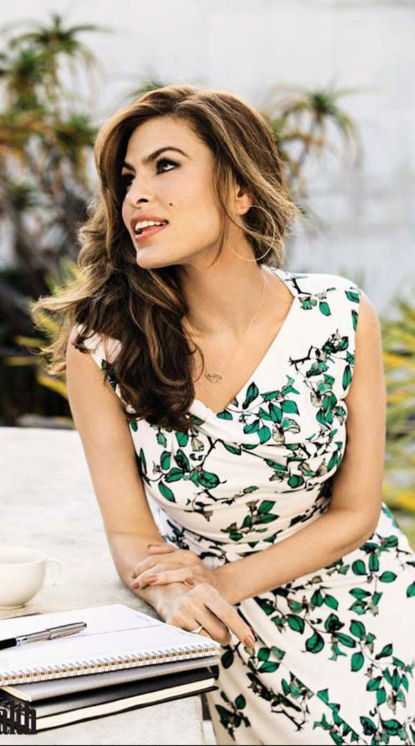 ce63225d76ce Eva Mendes Collection - Drape Dress - Ivy Print - New York & Company