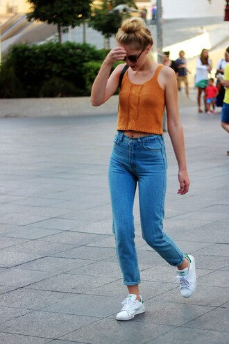 dear diary blogger top jeans shoes