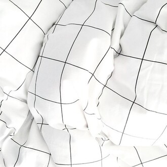 home accessory bedding square checkered pillow give me