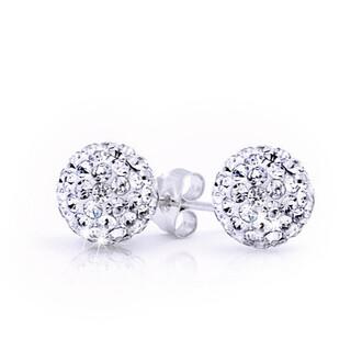 crystal quartz jewelry earrings