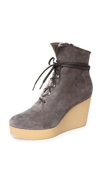 wedge booties booties shoes
