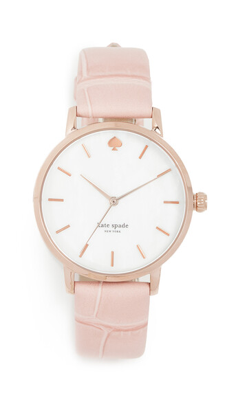 watch rose pink jewels