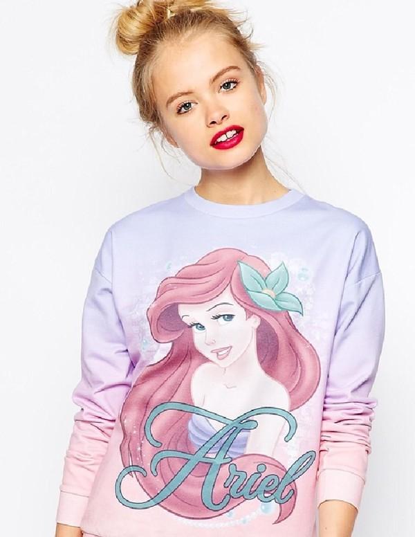asos the little mermaid sweater disney sweater