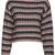 ROMWE | ROMWE Knitted Striped Long-sleeved Jumper, The Latest Street Fashion