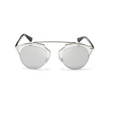 dcb70e395c4 Silver Metallic Lense Sunglasses