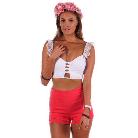 Mooloola for the frill crop top