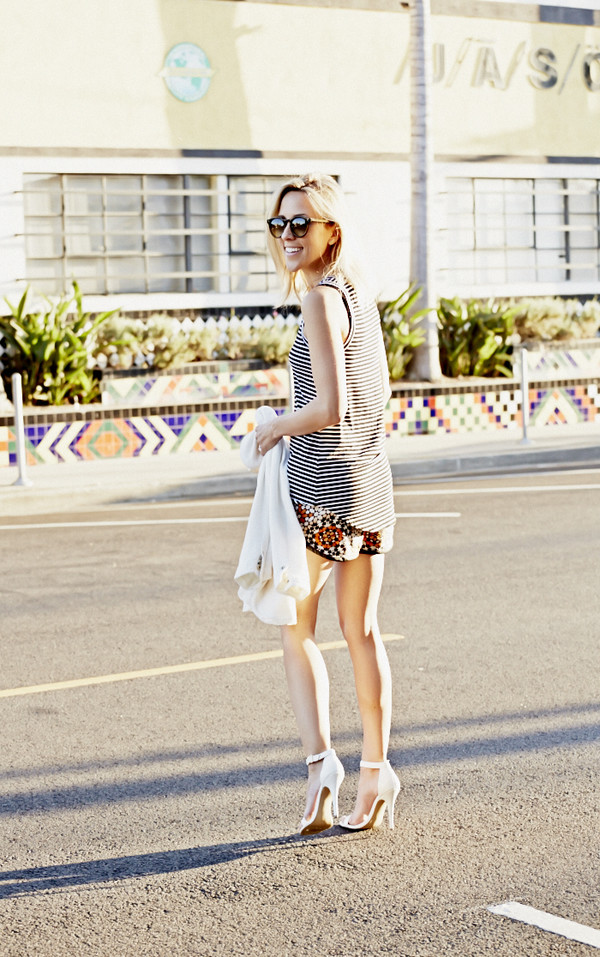 damsel in dior shoes jacket jewels sunglasses