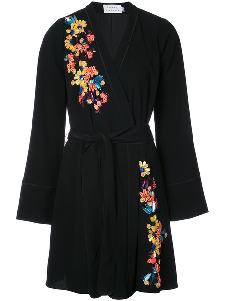 TANYA TAYLOR dress embroidered women black