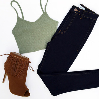 shoes cicihot high rise jeans skinny jeans chic sexy boho crop tops