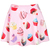 ROMWE | This Is Print Cup Cakes Print Pink Skirt, The Latest Street Fashion