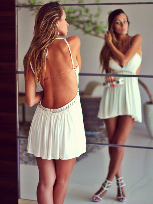 Vestido curto para festa