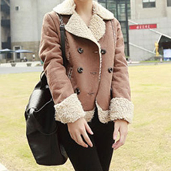coat retro warm