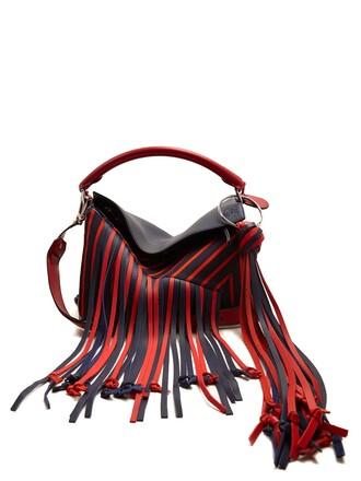 canvas bag bag red
