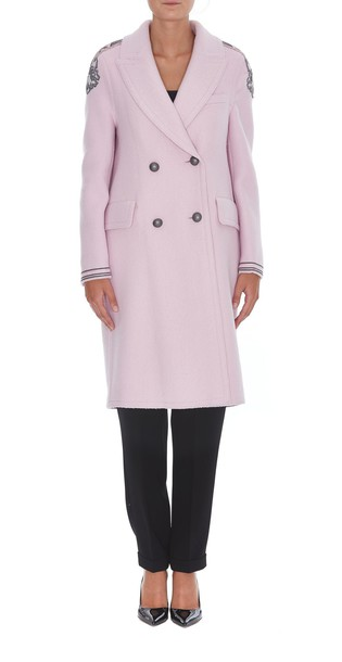 Ermanno Scervino coat pink