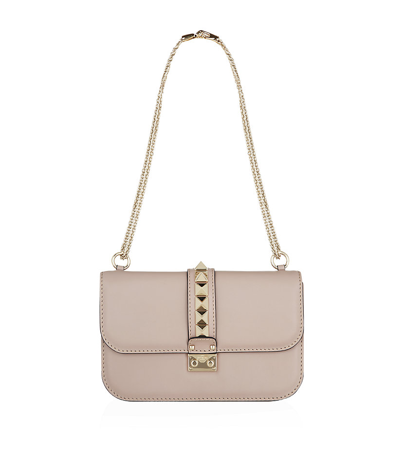 Valentino Medium Rockstud Lock Bag