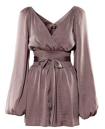Sleeved bow belt dress