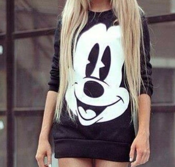 disney sweatshirt mickey mouse