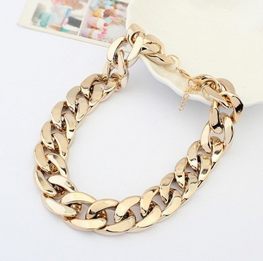Chain chunky necklaces