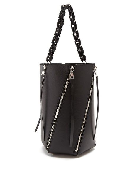 Proenza Schouler bag bucket bag leather black