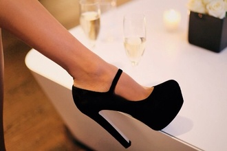 shoes high heels black high heels pumps black pumps suede shoes suede pumps black suede high heels black suede pumps black suede heels black heels elegant black heels ankle strap ankle strap platform ankle strap heels