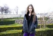 jacket,black,fur,model,coat,fashion