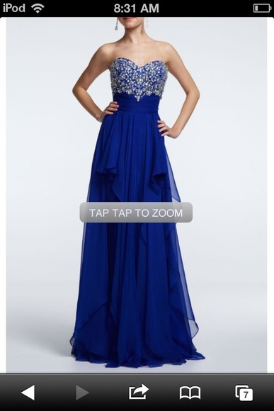 dress details prom dress long dress blue dress diamonds long prom dresses