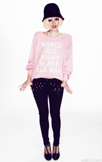 Wildfox White Label - Daisy's Girls Dance All Night Pfeiffer Sweater