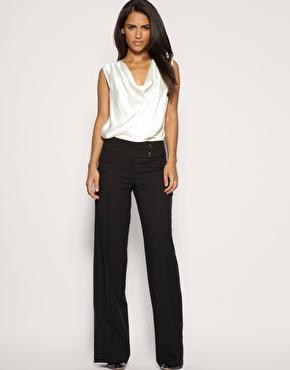 tailleur pantalon large