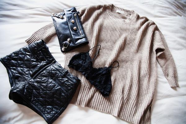 rumi sweater shorts underwear