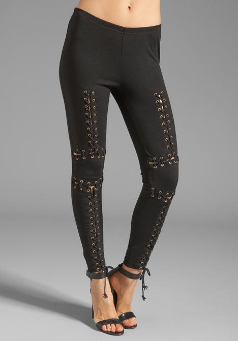 Style stalker robocop leggings in black at revolve clothing