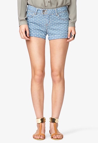 shorts denim triangle