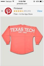 texas tech spirit jersey