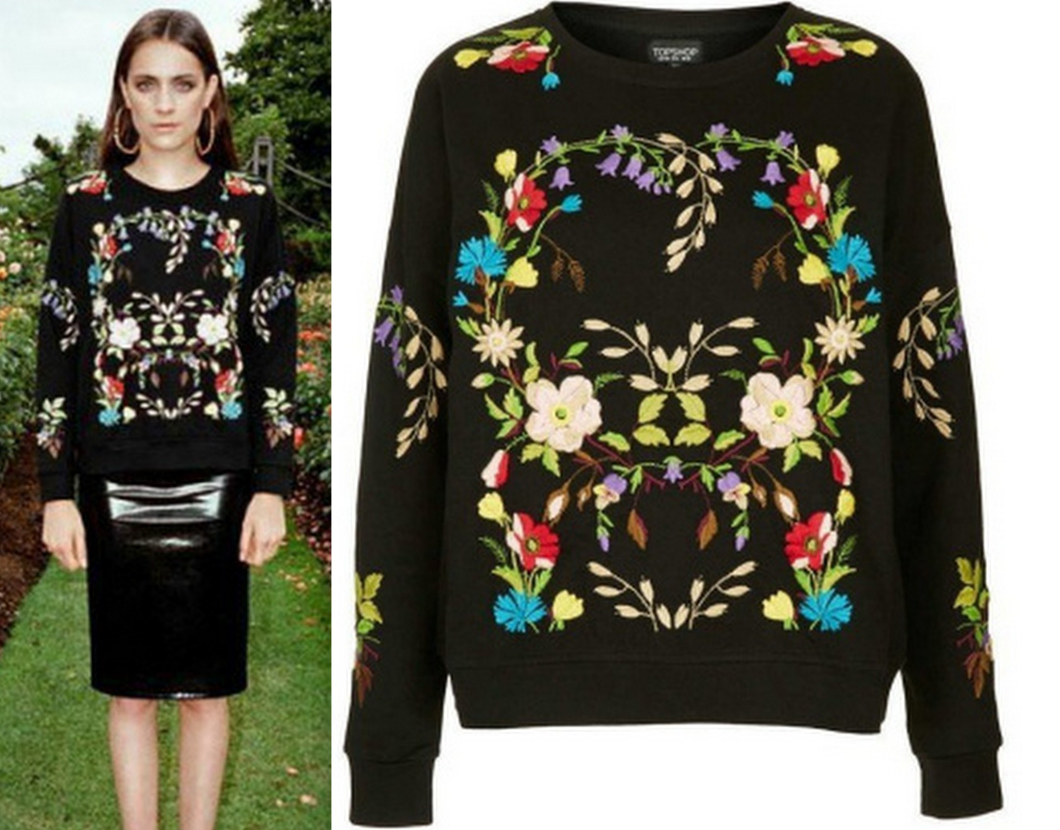 Audrey Floral Sweatshirt · Fashion Struck · Online Store Powered by Storenvy